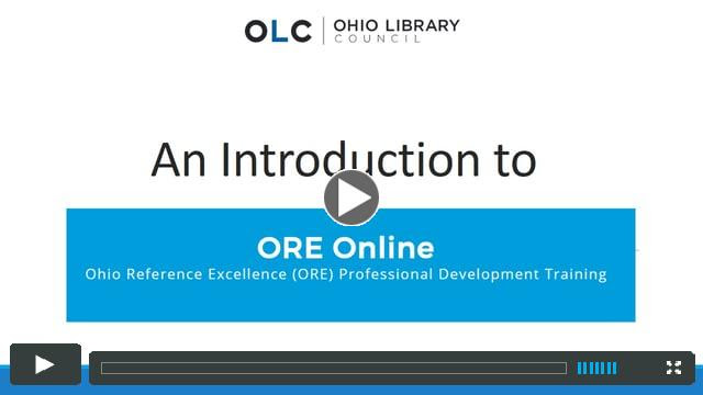 ORE Online video